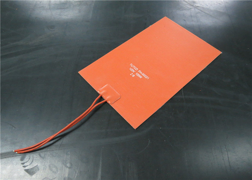 Moisture Proof Silicone Rubber Heater Bed 600mmx600mm For 3D Printer